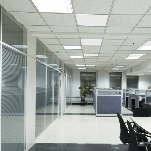 Herschel Select Ceiling grid office infrared heating panel