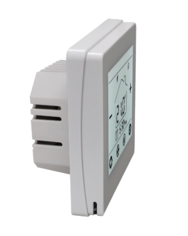 Herschel iQ MD1 Wired Thermostat Side View