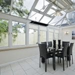Infrared Conservatory Heating