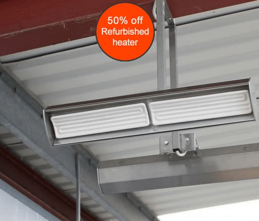 Refurbished Herschel Advantage IR workshop heater