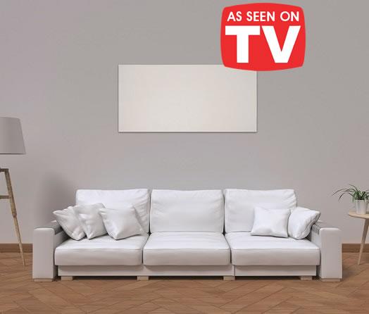 Herschel Select XLS panel in a sitting room