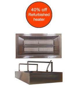 Refurbished IRP4 heater